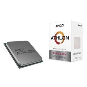 Cpu Amd Athlon 200ge Yd200gc6fbbox 3.2g 5mb Radeon Vega Graphics Am4 35w Box