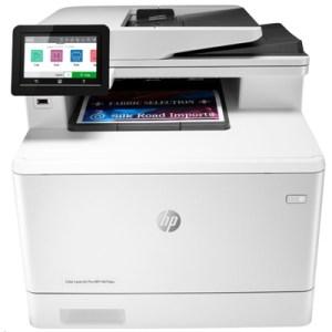 Stampante Hp Mfc Laserjet Color Pro M479dw W1a77a White A4 27ppm 512mb Adf F/r Lan-usb-wifi Lcd 600dpi 3in1 Eprint 3yconreg