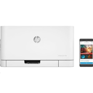 Stampante Hp Laser Color 150nw 4zb95a White A4 18ppm 64mb 600dpi Lcd Wifi-usb 1y