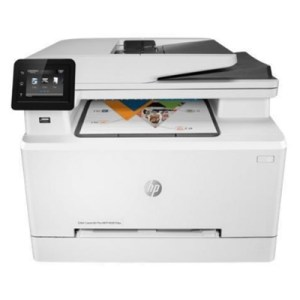 Stampante Hp Mfc Laser Color M283fdw 7kw75a White 4in1 A4 21ppm 256mb 1200dpi Lcd Wifi-usb-lan Adf 3yconreg