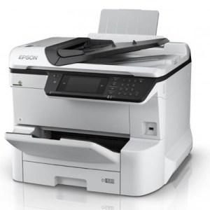 Stampante Epson Mfc Ink Workforce Pro Wf-c8610dwf C11cg69401 A3+ 4in1 35ppm 250fg Adf Lcd Usb Lan Wifi Direct