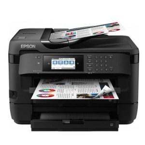 Stampante Epson Ink Mfc Workforce Wf-7720dtwf C11cg37412 A3+ 4in1 18ppm Iso Lcd 2x250fg Adf F/r Card Read Nfc Usb Lan Fino:30/09