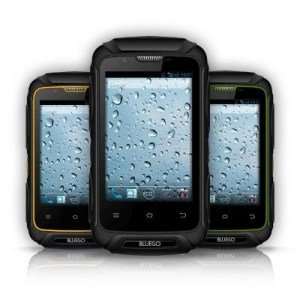 """Smartphone Bluego Dualsim-ds Bg-x-351 Rugged Black 3.5""""ips A7 Dc 1.3ghz Ram512mb 4gb And4.2 Cam5.0bike Mount Kit Incl."""