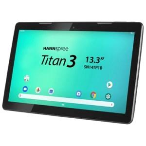 "Tablet 13.3"" Hannspree Sn14tp1bas Wifi Black Dc Jack(alim.esterna) Arm A53 1.5ghz Octac 2gb 16gb And9.0 Bt Microsd Mi Fino:06/07"