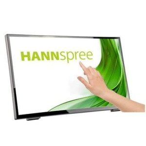 "Monitor M-touch Hannspree Lcd Led 23.8"" Wide Ht248ppb 8ms Mm Fhd 3000:1 Black Vga Hdmi Dp Usb 3.0 Vesa Fino:06/07"