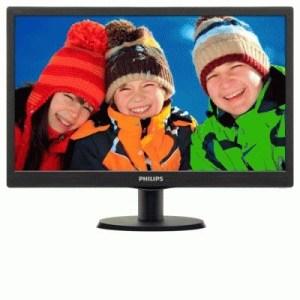 "Monitor Philips Lcd Led 18.5"" Wide 193v5lsb2/10 5ms Hd 700:1 Black Vga Vesa  Fino:06/07"