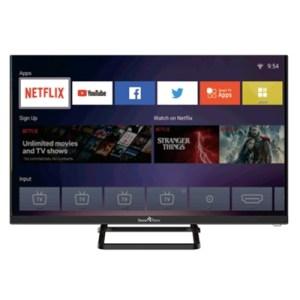 "Tv Led Smart-tech 31.5"" Wide Smt32f1sln83u Smart-tv Linux Dvb-t2/s2 Hd 1366x768 Black Ci Slot Hm 3xhdmi 2xusb Vesa"
