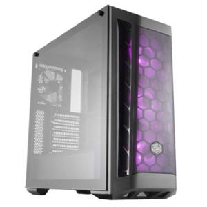 Cabinet Atx Midi Tower Cooler Master Mcb-b511d-kgnn-rgb Masterbox Mb511 Black Atx 2x3.5/2.5 2xusb3.0 Rgb Lato Trasp. Noalim.