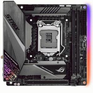 Mb Asus Rog Strix Z390-i Gaming Z390 1151 2xddr4dc-4500oc Vga 1xhdmi 1xdp 1xpcie3.0x16 4xsata3 M2 Usb3.1 Miniitx 90mb0yb0-m0eay0