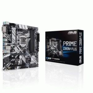Mb Asus Prime Z390m-plus Z390 1151 4xddr4dc-4266o.c. Vga Hdmi Dvi-d 1xpcie3.0x16 4xsata3r M2 Usb3.1 Matx 90mb0z60-m0eay0