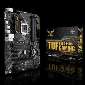 Mb Asus Tuf B360-plus Gaming B360 1151 4xddr4dc-2666 Vga Dsub Hdmi 1xpcie3.0x16 6xsata3 M.2 Gblan 2xusb3.1 Atx 90mb0x10-m0eay0