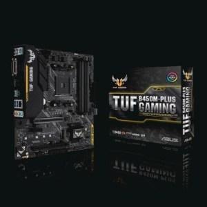 Mb Asus Tuf B450m-plus Gaming Lga Am4 B450 4xddr4dc 1pcie3.0x16 Vga 4sata3raid M.2 Gblan Usb3.1 Hdmi Dvi-d Matx 90mb0yq0-m0eay0