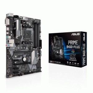Mb Asus Prime B450-plus Lga Am4 B450 4xddr4dc-3200o.c. 1xpcie3.0x16 Vga 6xsata3raid M.2 Gblan Usb3.1 Atx 90mb0yn0-m0eay0