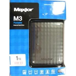"""Hdd Usb3.0 2.5"""" 1000gb Maxtor (hx-m101tcb/gm) M3 Portable Black"""