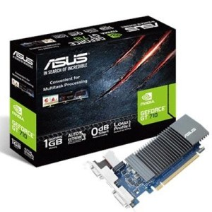 Svga Asus Gt710-sl-1gd5 Nvidia Gt710 1gddr5 32bit Pcie2.0 Dvi-d Hdmi Vga Hdcp 2560x1600 90yv0al0-m0na00