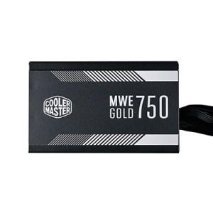 Alimentatore Atx 750w Coolermaster Mwe Gold Mpy-7501-acaag-eu Pfc Attivo 80+gold 240vac Fan120mm Cavo Eu