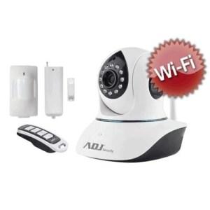 Kit Videosorveglianza Ip Adj 740-00005 Argo Da Int.-1/4cmos Tec.led Ir 10mt-lente 3.6-comp.1 Telec.argo+sens.mag.+sens.pir+telec
