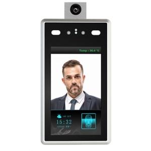 """Videocamera Per Controllo Accessi Con Misurazione Temperatura Corporea Levelone Fcs-7703 Lcd Touch Screen 7"""""""