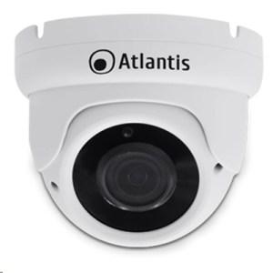"Videocamera Ip Atlantis A11-ux915a-dp Poe Dome  Bianca-5mp-ip66 Cmos1/2.8""-ottica Fissa 3.6mm-ir Cut-fino A 18mt"