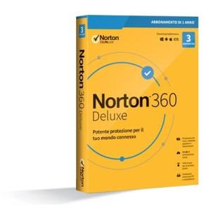 Norton 360 Deluxe 2020 -- 3 Dispositivi (21397693) - 25gb Backup Fino:31/08