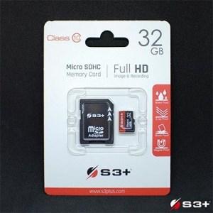 Micro Secure Digital 32gb S3sdc10/32gb Class10 + Adattatore S3+