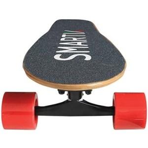 Skate Short Smartix Sm99-f14bt Nero/rosso Bluetooth Supp.fino 100kg- Dist.perc.10km-vel.max 15km/h-ricarica 90'-mod.contr.-350w