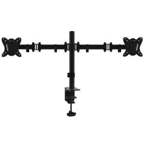 """Staffa X Doppio Monitor Da Tavolo 13""""-27"""" Equip 650152 Supp.fino A 8kg - Vesa Fino A 100x100 Rotazione 360 -ean: 4015867207185"""