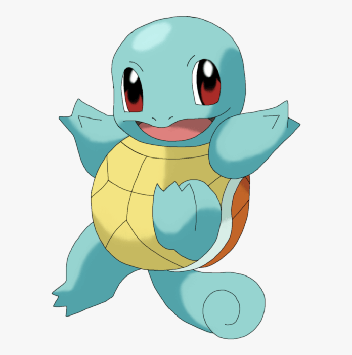 pokemon squirtle png
