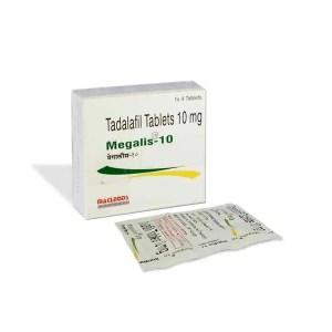 Megalis 10 mg (Tadalafil)