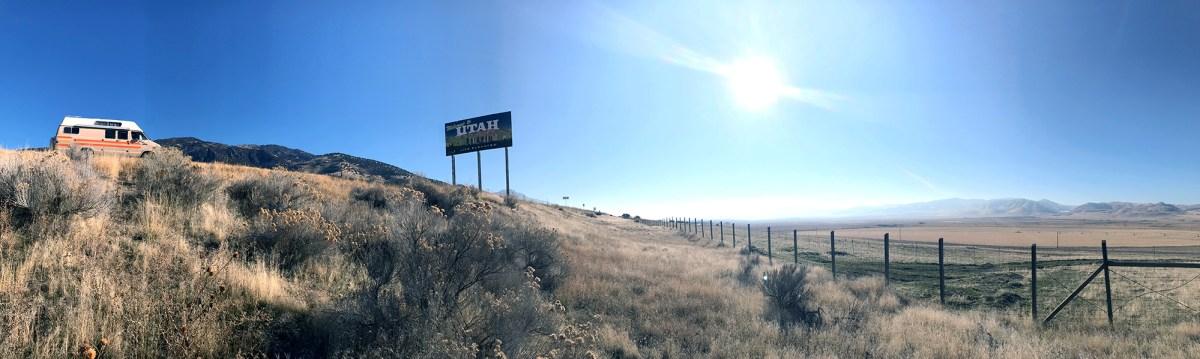 Generic Van Life - Utah Sign