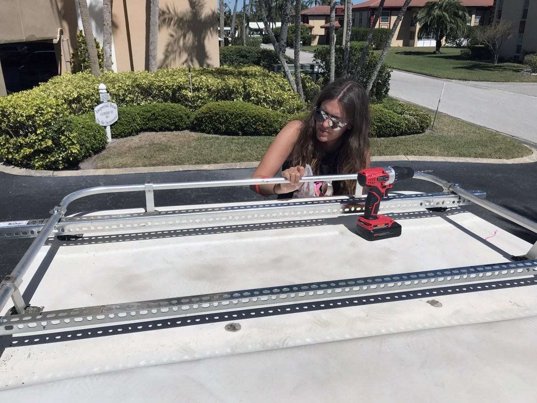 Generic Van Life - Solar Panel Setup - Mounting Brackets