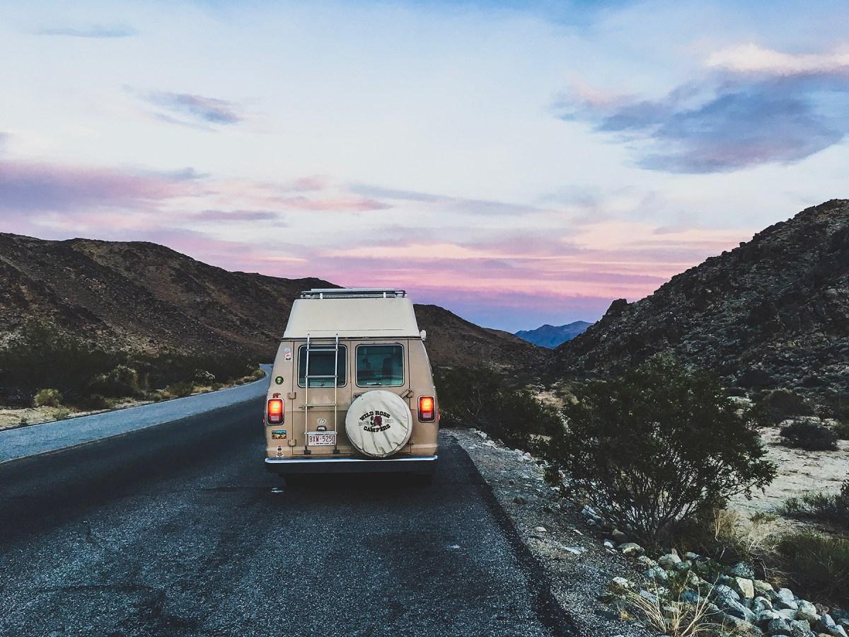 Generic Van Life - Southern California Pastel Sunset