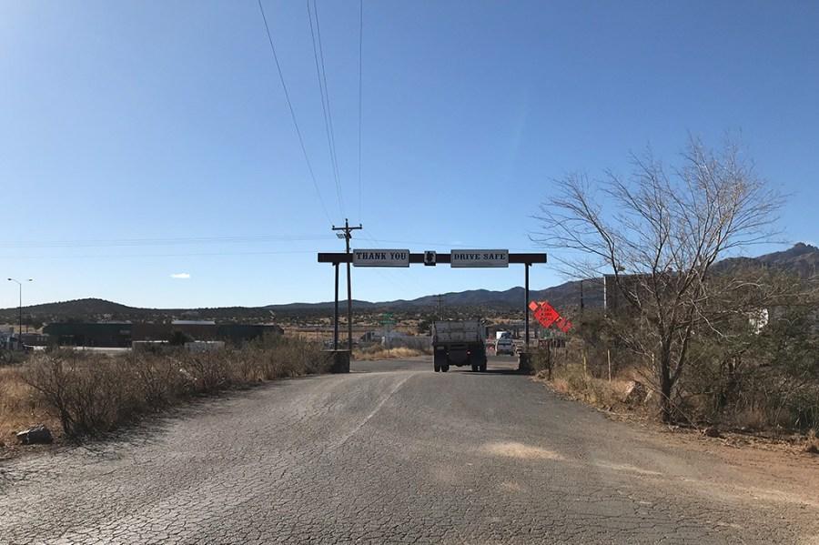 Generic Van Life - Camping Spot - Blake Ranch Kingman Arizona United States - Exit View