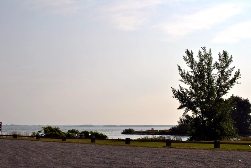 Generic-Van-Life-Camping-Spot-Beauharnois-Dam-Québec-River
