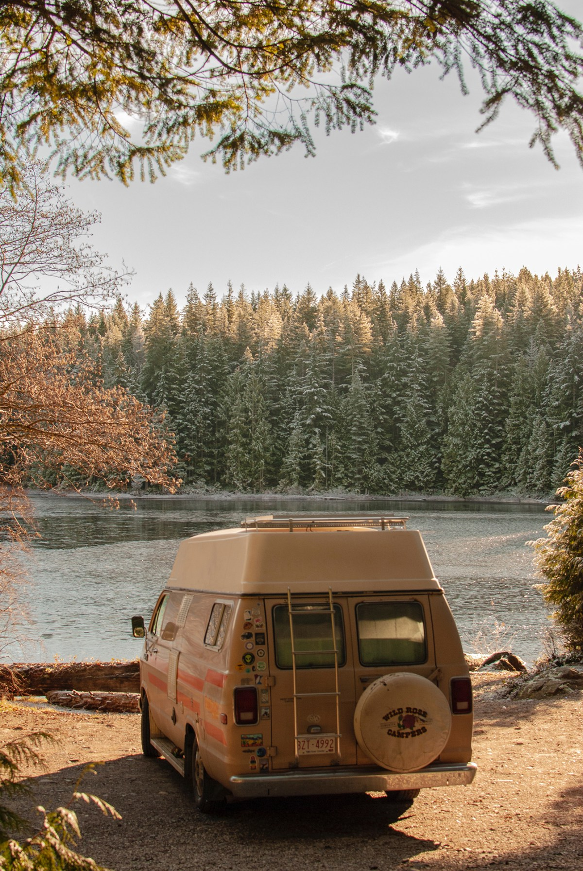 Generic Van Life - Campbell River - Twin Lake