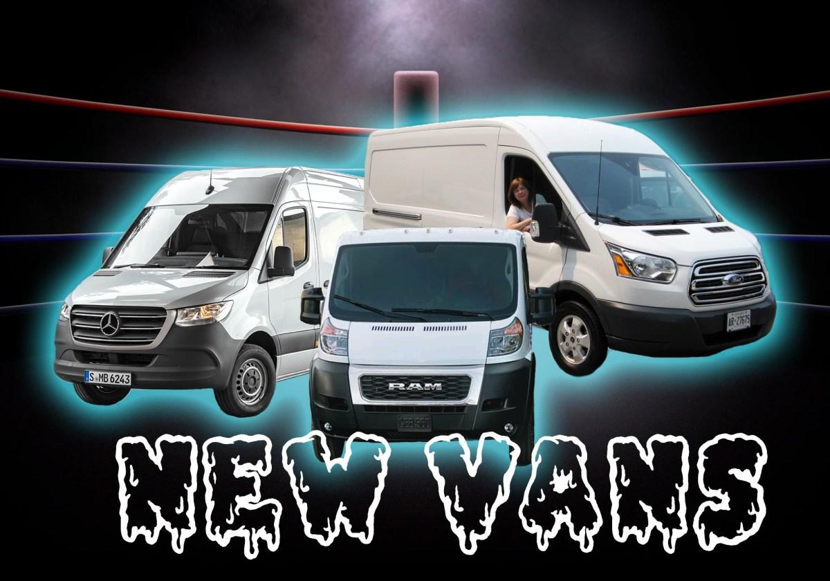 Generic Van Life - Old Van Vs New Van - New Vans
