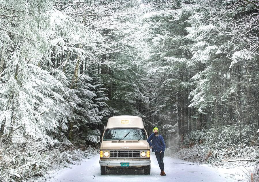 Generic Van Life - Winterization Tips for Vanlife Part II - Justin with Van