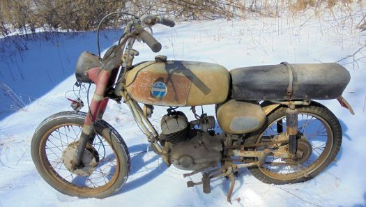 Jim and I shared our first bike, a 1965 Benelli 125 cc (Sears) model.