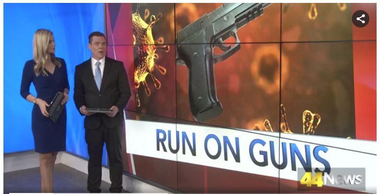 A run on guns.