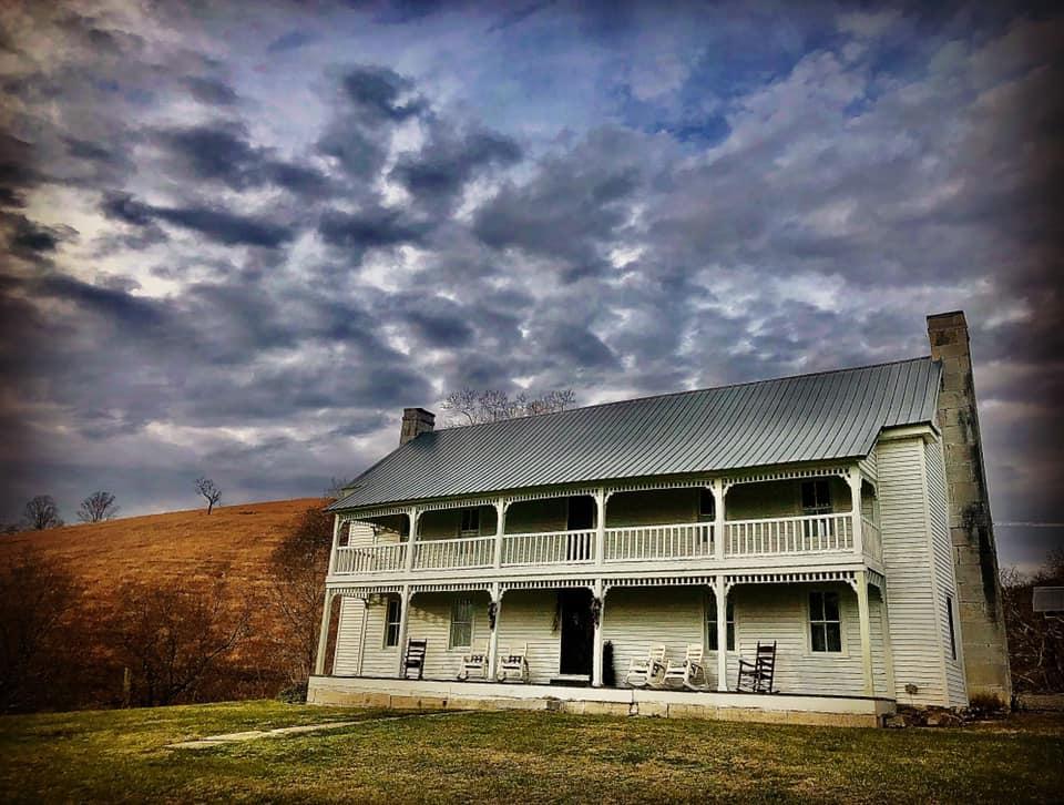 Ferguson Farm. Dusk. December 2020.