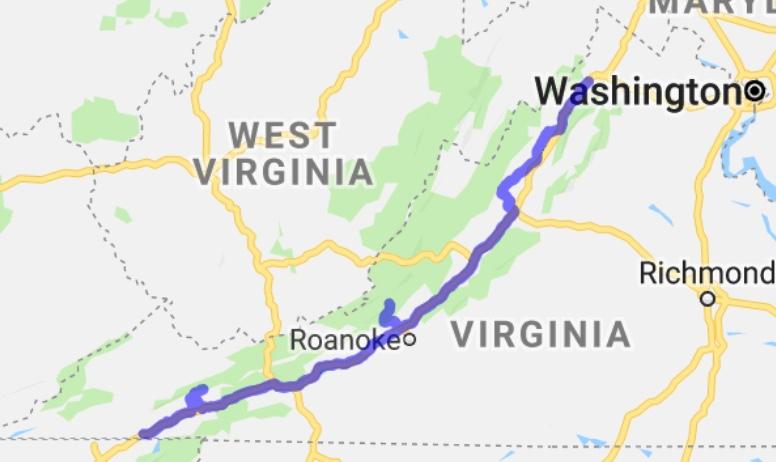 Virginia's Route 42