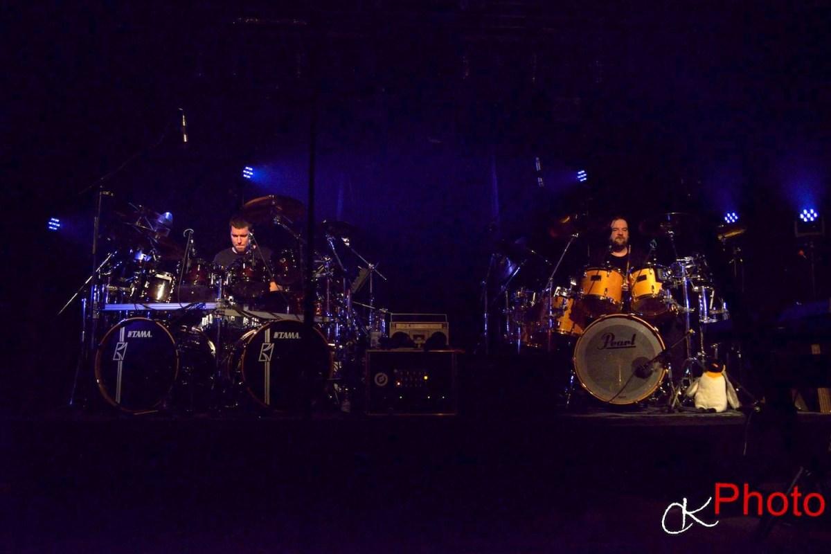 Drum Duet, Pearl, Tama, Sabian, Zildjian, Paiste, Genesis, Phil Collins, Collins, Chester Thompson, Thompson, Kulturscheune, Drums, Drummer, Salzgitter