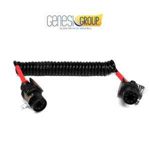 Spirale elettrica 7P/24V  (ISO 7638-1 ABS / EBS / ADR)