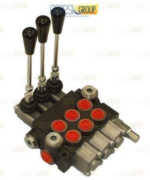 Distributore idraulico GHIM a 3 leve doppio effetto 3/8 – Oleodinamico