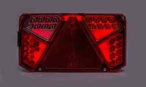 FANALE POSTERIORE FULL LED 12/24V Rimorchio – Semirimorchio W125DNP