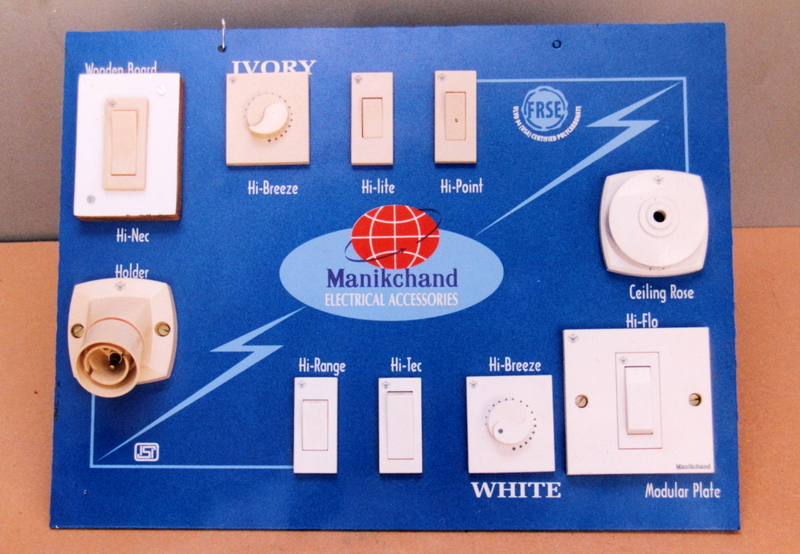 In shop Product experience display for Manikchand Switches