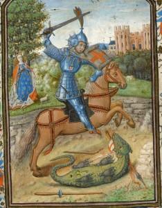 George & Dragon Book of Hours - Morgan Museum