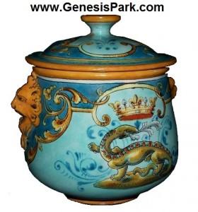 French Salamander Bowl 1890 Clean