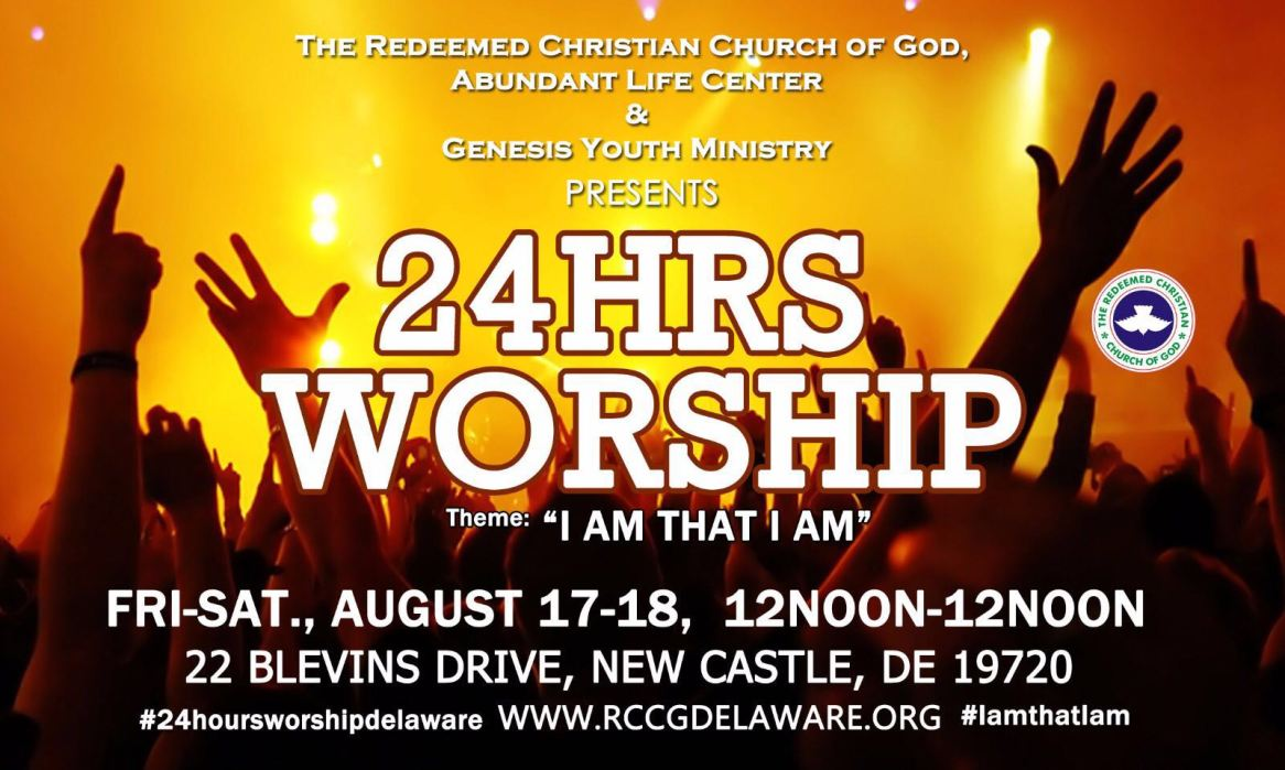 Delaware 24HoursWorship2018 - 17th-18th Aug. - 12pm