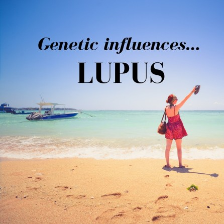 Looking at some of the genes involved in lupus.